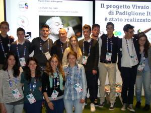 Progetto Vivaio scuole di Padiglione Italia a Expo