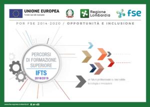 Offerta percorsi IFTS Regione Lombardia 18-19