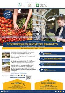 IFTS Industrializzazione del prodotto per l'agricoltura multifunzionale