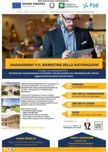 IFTS Marketing e management della ristorazione